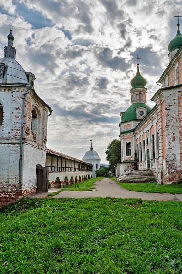L'église de l'anneau d'or de la Russie. images libres de droits