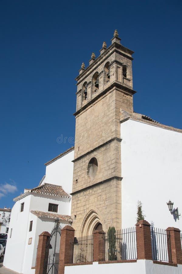 L'église de l'aumônier Jesus Iglesia de Padre Jesus est un 16ème CEN image libre de droits
