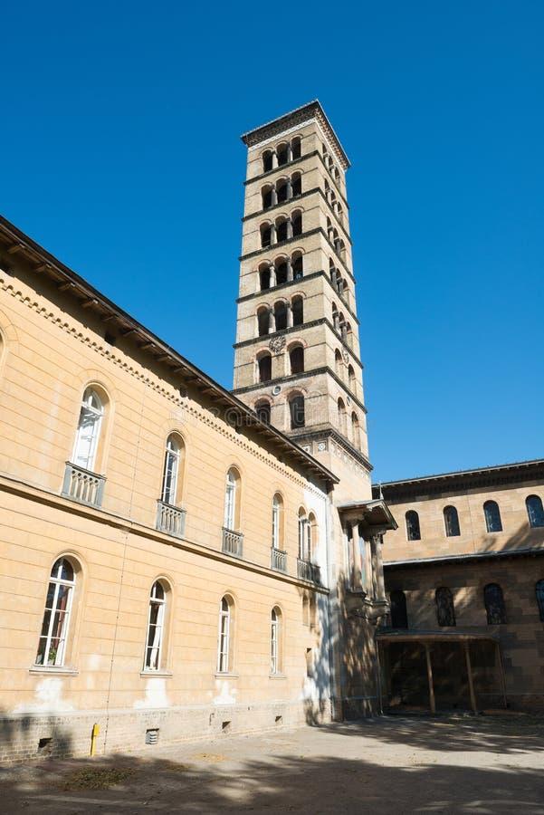 L'église de la paix en parc de Sanssouci images libres de droits
