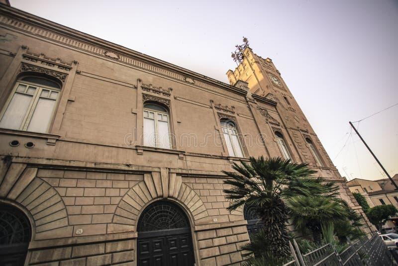 L'église de Licata photo libre de droits