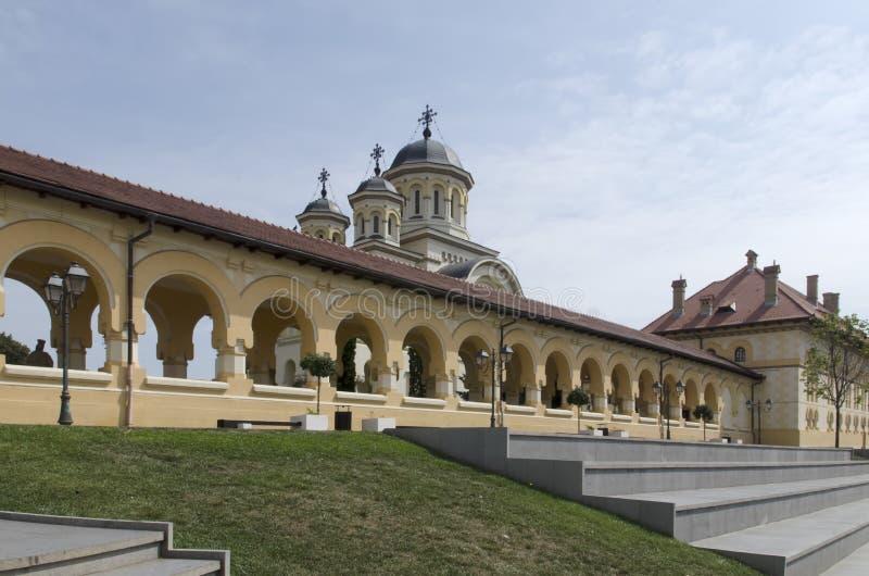 L'église de réunification en Alba Iulia, Roumanie photo libre de droits