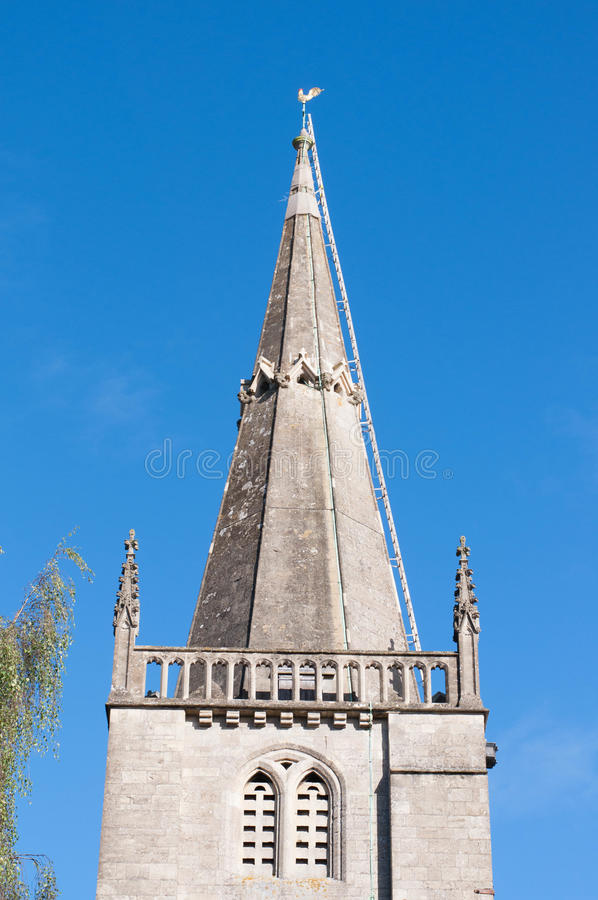 L'église de St Andrew, Chippenham, Angleterre images stock