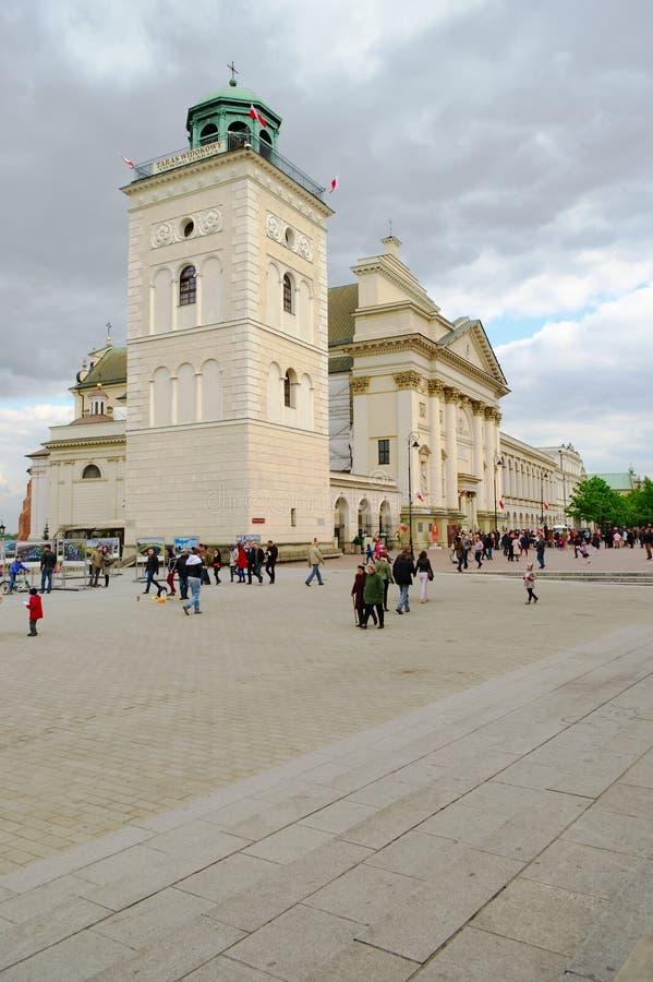 L'église de St Anne à Varsovie, Pologne photo libre de droits