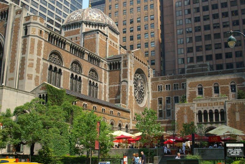 L'église de St Bart, New York City, NY photographie stock