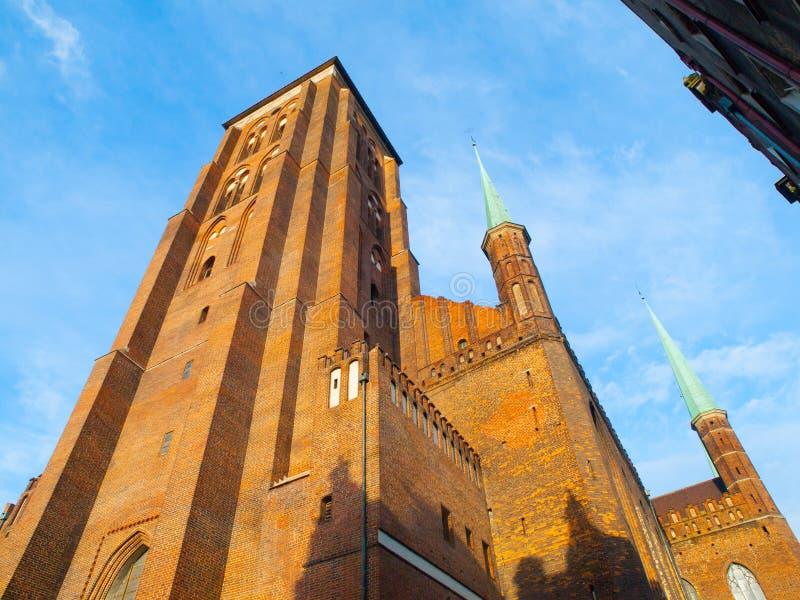 L'église de St Mary à Danzig photos stock