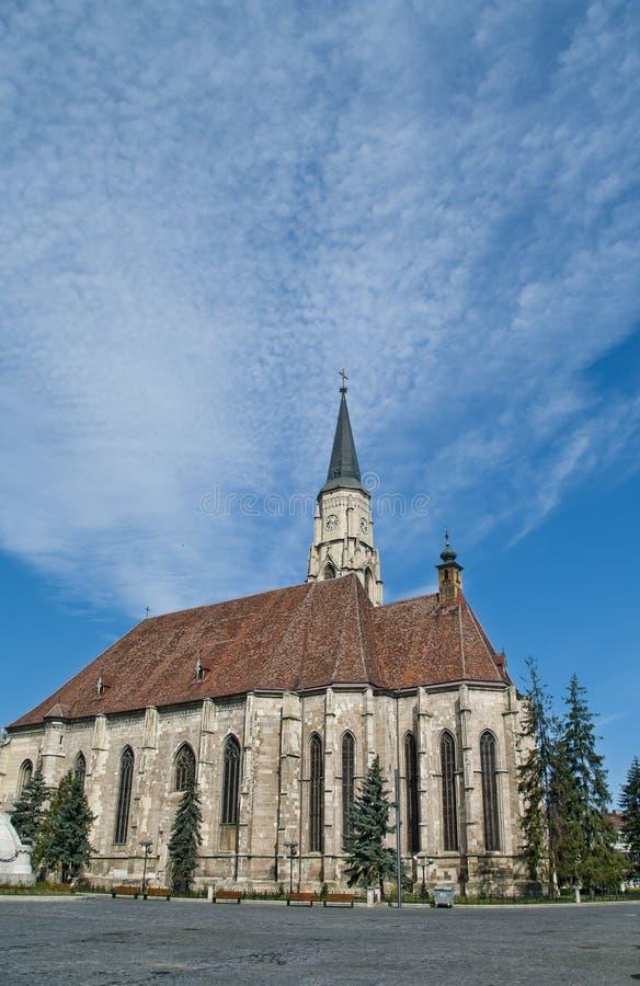 L'église de St Michael, Cluj Napoca, Roumanie photographie stock