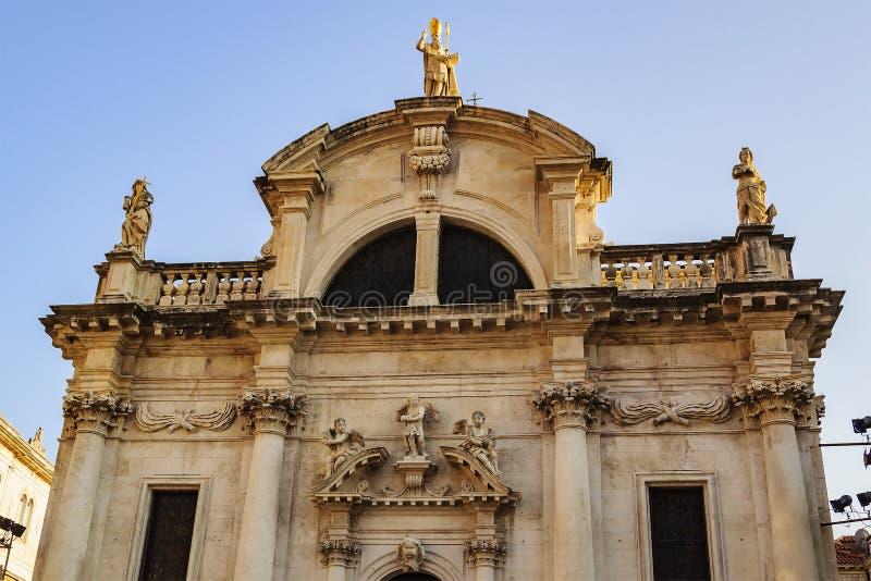 L'église de St Vlach est une église catholique dans Dubrovnik, Croatie Il est situé dans la partie centrale de la ville photo stock