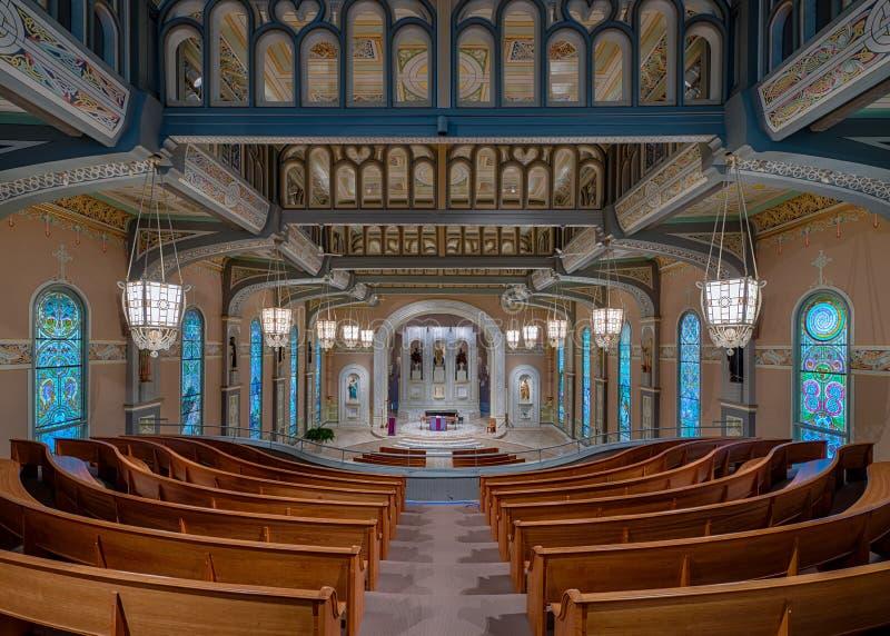 L'église de vieux St Patrick photo stock