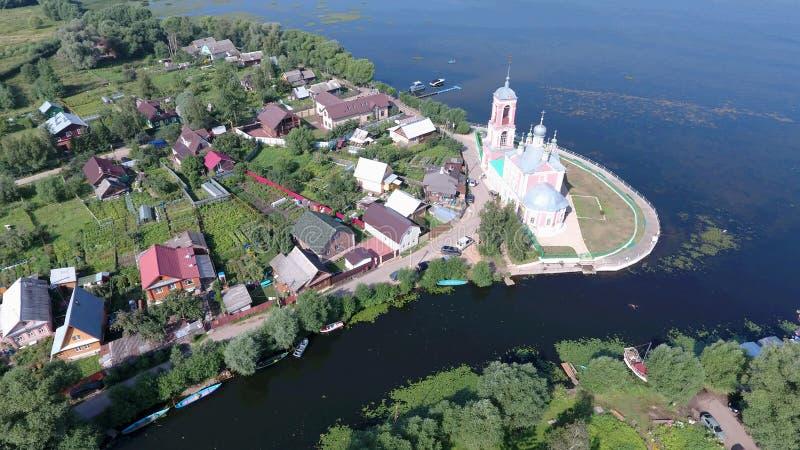 L'église des 40 martyres de Sebaste dans ci de Pereslavl-Zalessky images stock