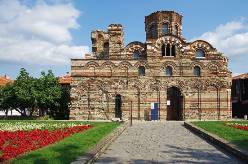 L'église du Christ Pantocrator dans Nessebar photo libre de droits
