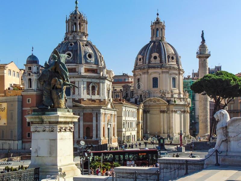 L'église du nom le plus saint de Mary, Rome images stock