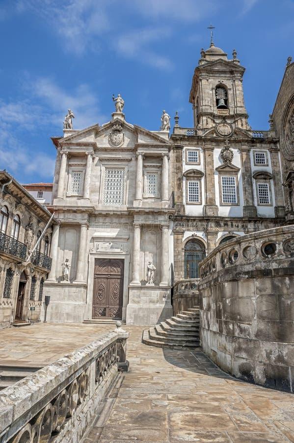 L'église du saint Francisco, Portugal, Porto, images stock