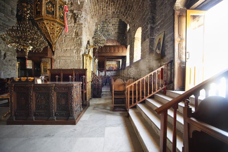 L'église du saint Lazarre photographie stock libre de droits