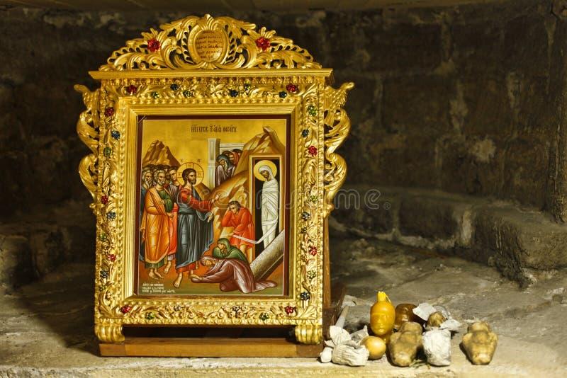 L'église du saint Lazarre images libres de droits