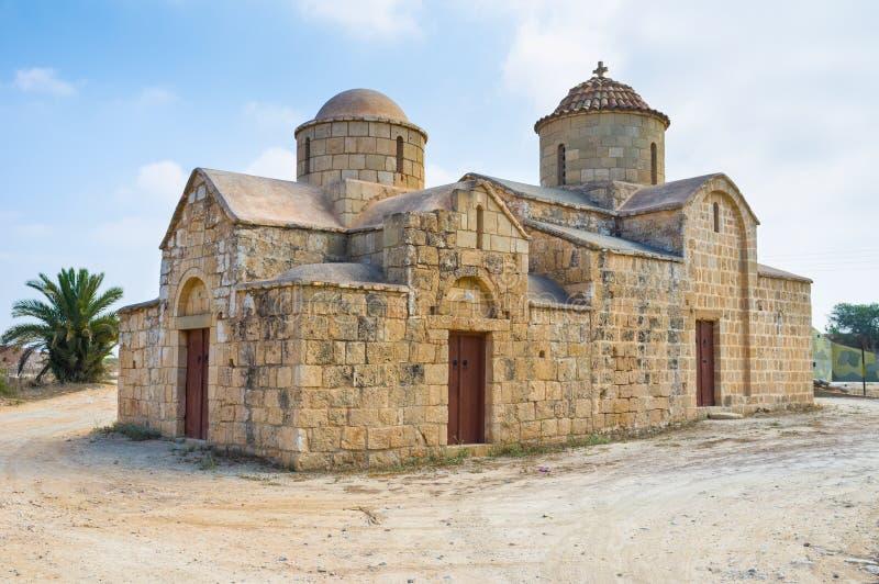 L'église en pierre image libre de droits