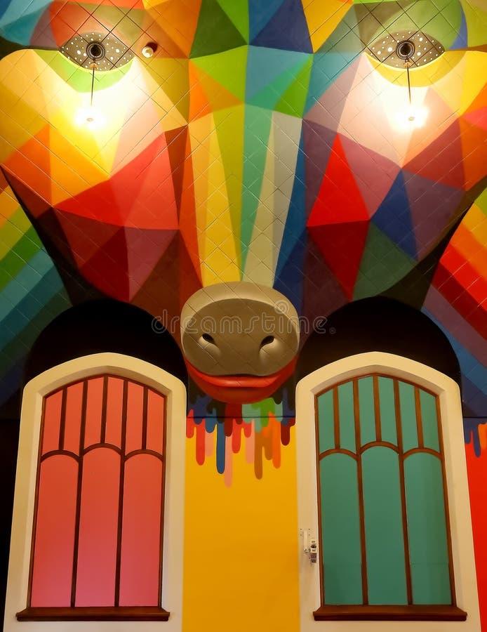 L'église internationale du cannabis, église à la maison pour Elevationism, une nouvelle religion photo stock