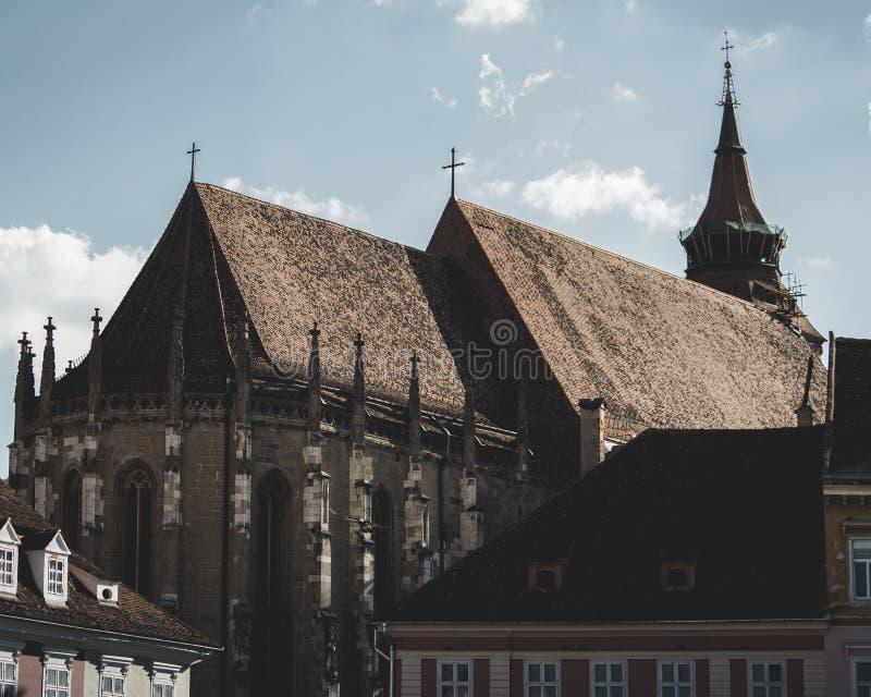 L'église noire image stock