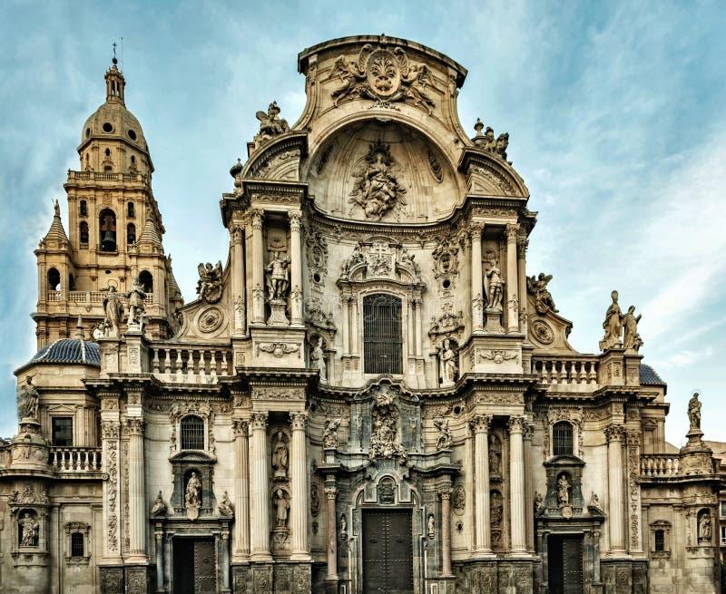 L'église sainte de cathédrale de Santa MarÃa image libre de droits