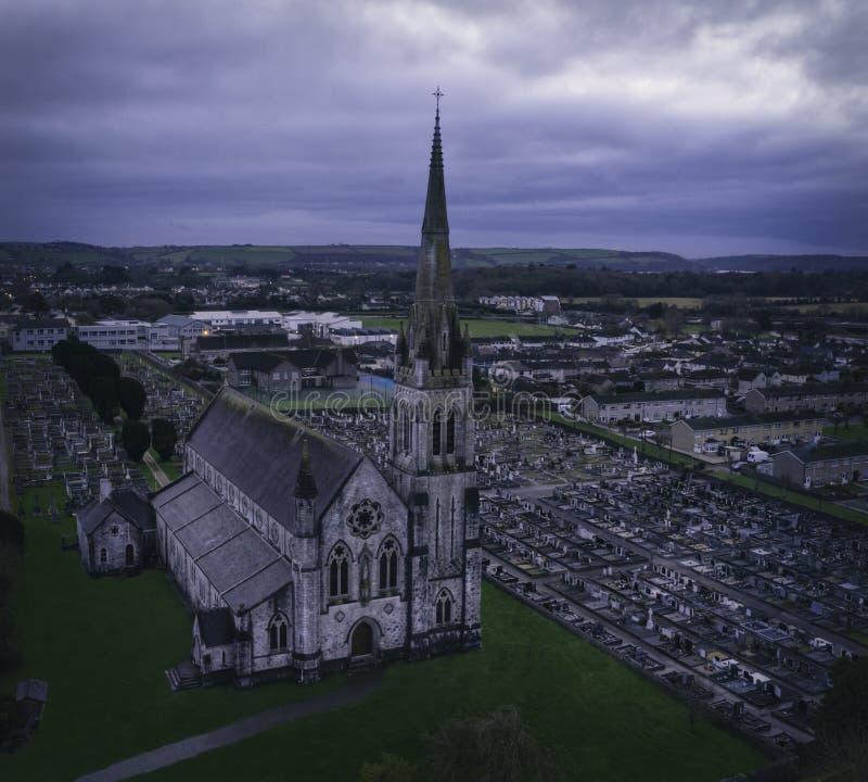 L'église sainte de chapelet photos libres de droits