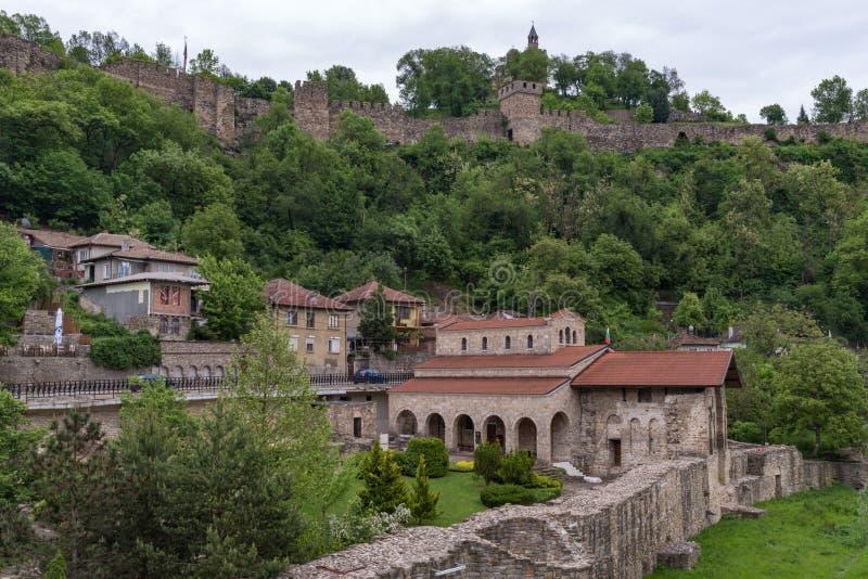 L'église sainte de quarante martyres est une église médiévale dans la vieille ville Veliko Tarnovo photo libre de droits