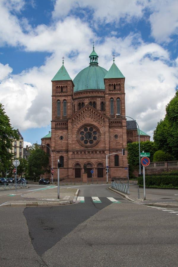 L'église St. Pierre royalty-vrije stock foto's
