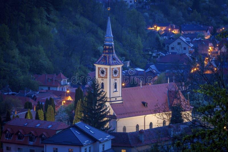 L'église Trinity sainte en Brasov images libres de droits