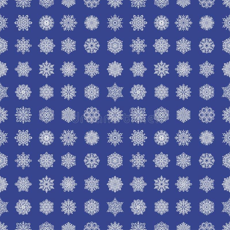 L'élément et le Noël de Noël de glace congelé par symbole de neige d'hiver de nature de saison de flocon de neige givrent le fond illustration libre de droits