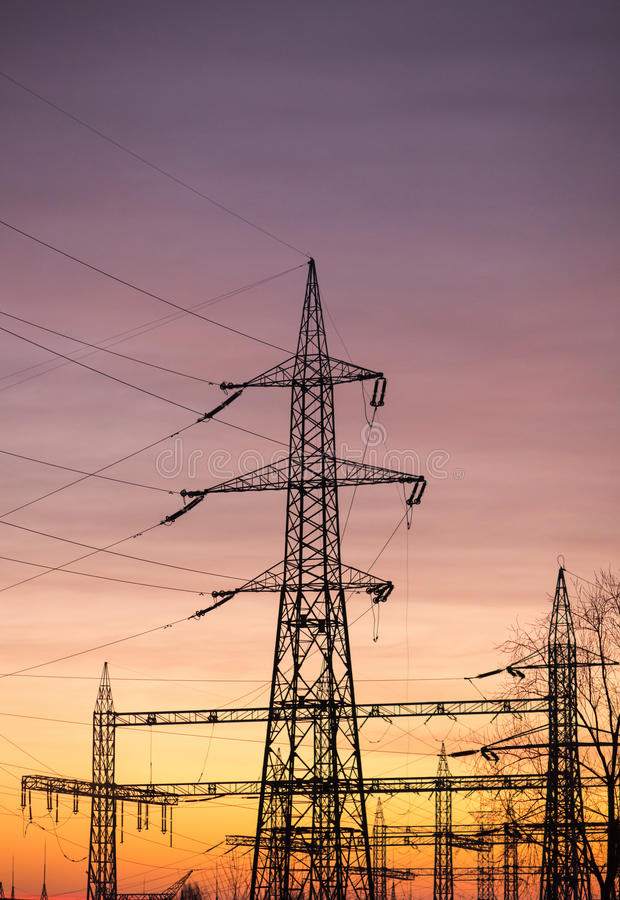 l'électricité photos stock