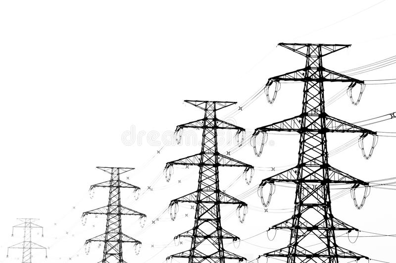l'électricité transmettent illustration stock
