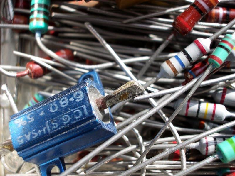 L'électronique 7 images stock