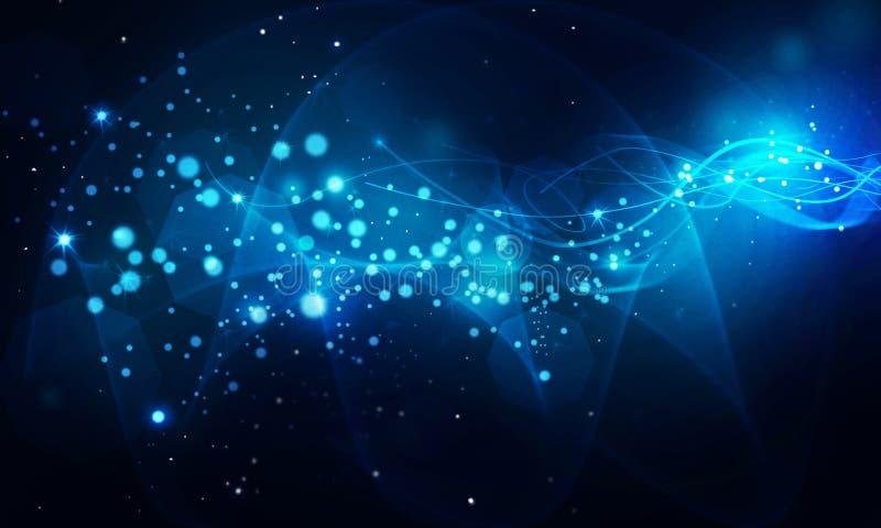 L'énergie ondule le fond abstrait illustration libre de droits