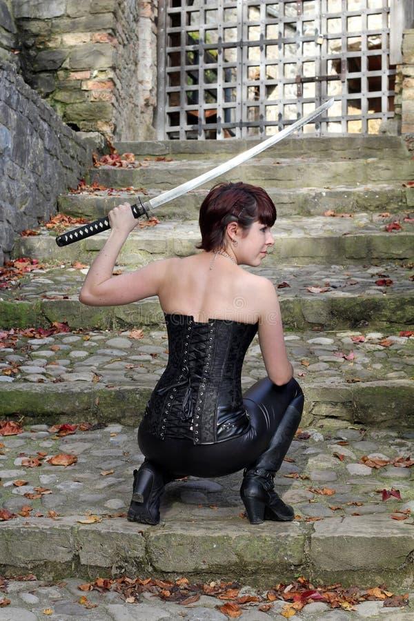 L'épée photographie stock