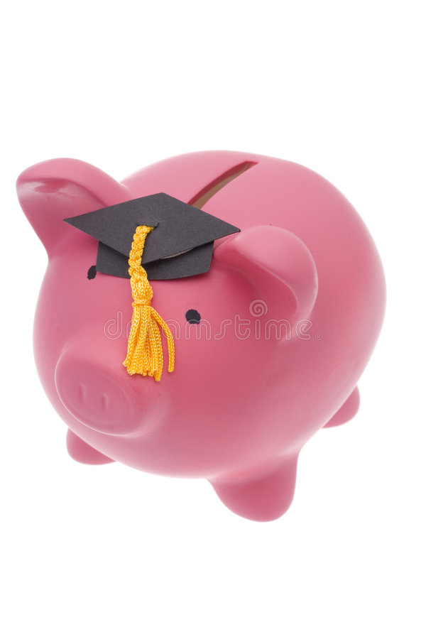 L'épargne d'éducation image libre de droits