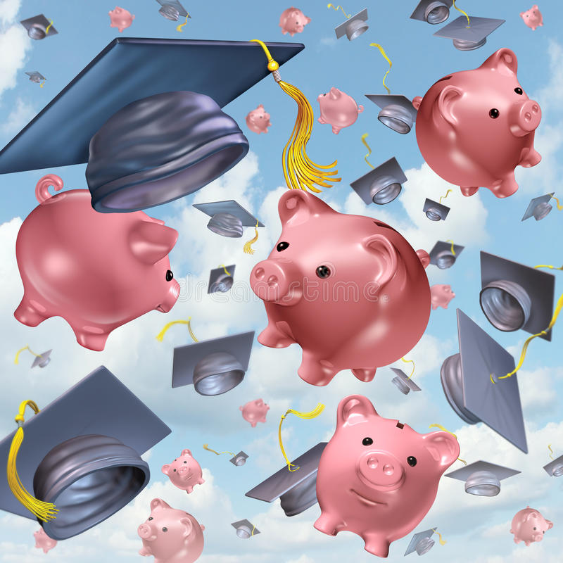 L'épargne d'éducation illustration libre de droits