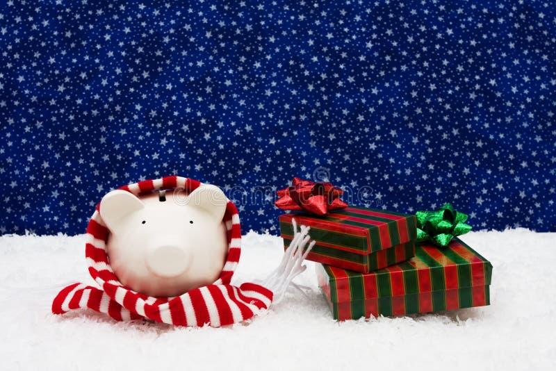 l'épargne de Noël images libres de droits