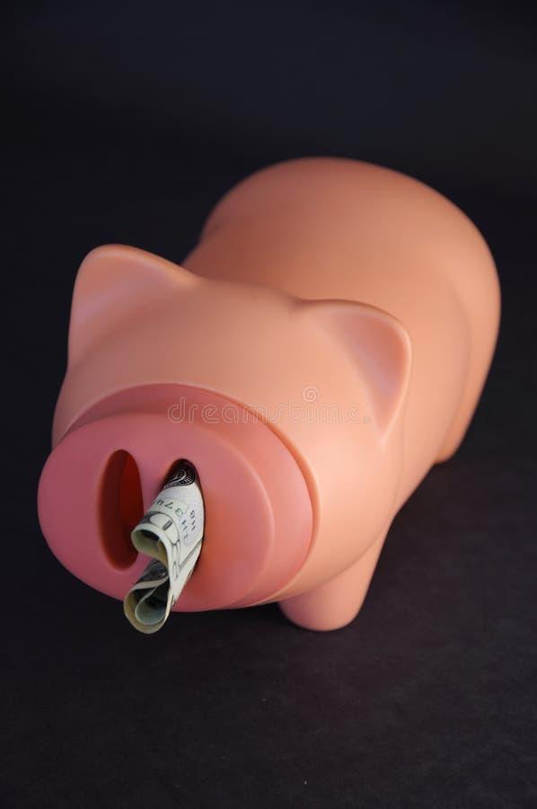L'épargne et dette photographie stock