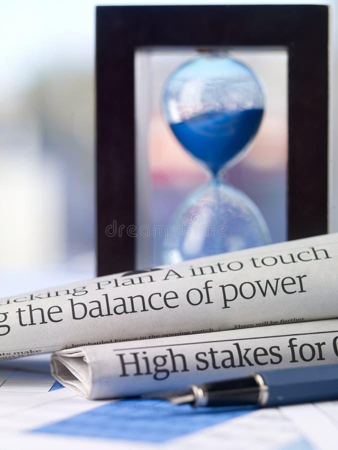 L'équilibre des forces images stock