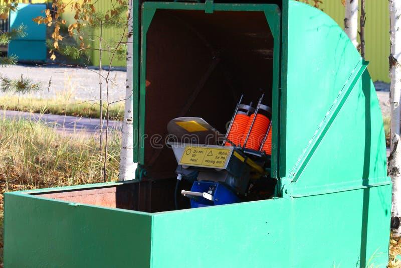 L'équipement est utilisé pour les concours de tir photos libres de droits