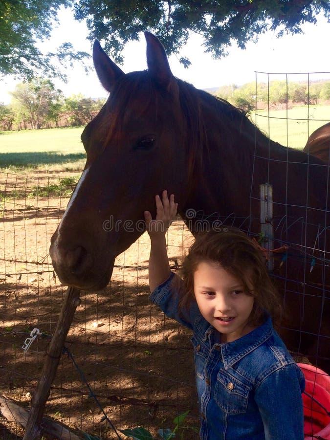 L'équitation est amusement photographie stock
