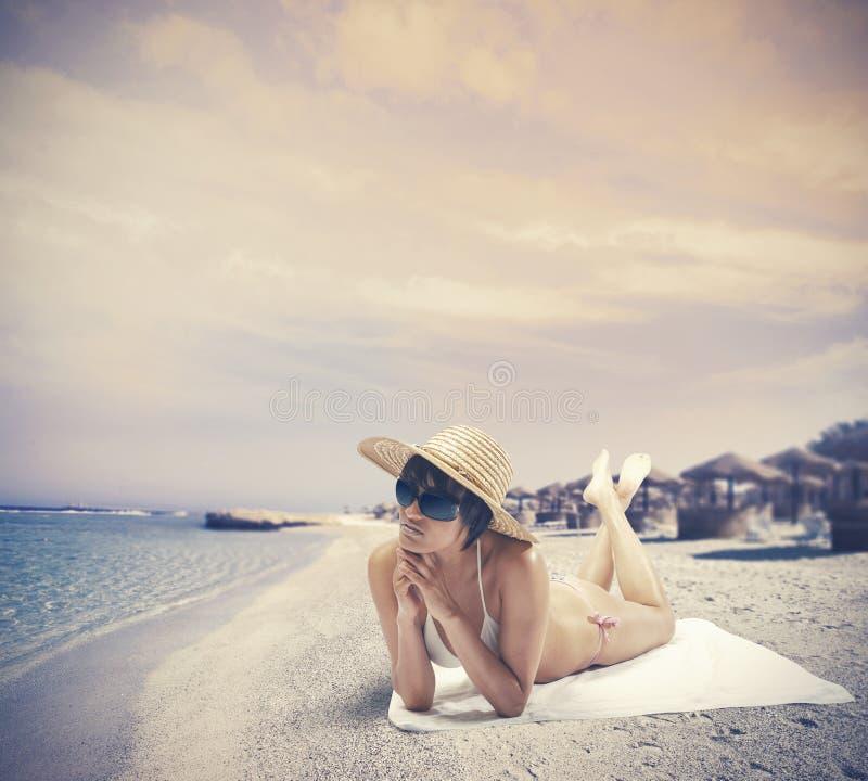 L'été détendent photographie stock