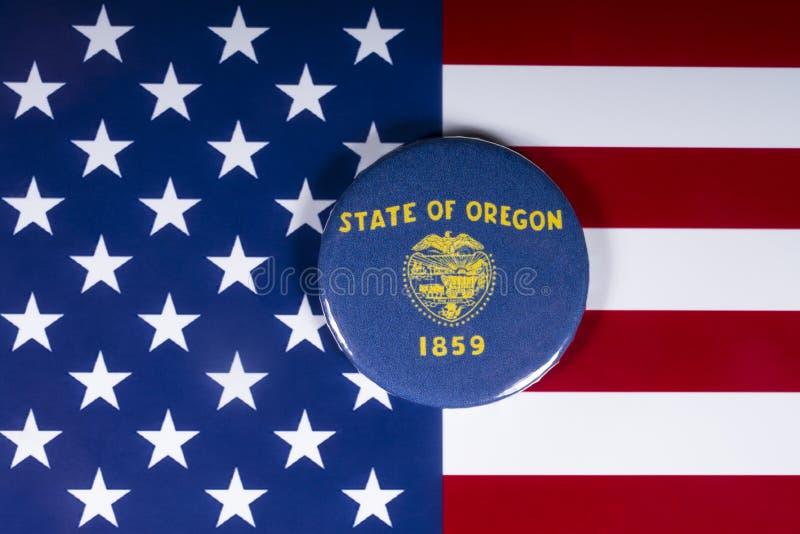 L'État de l'Oregon aux Etats-Unis images libres de droits