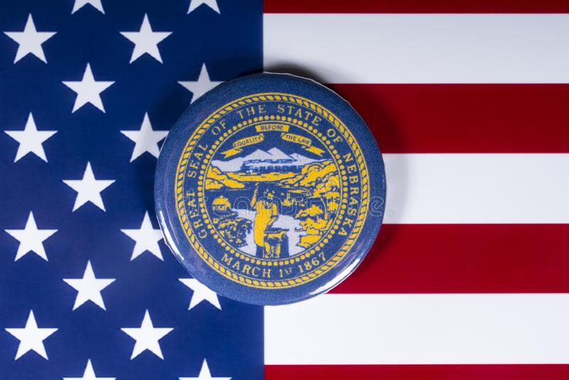 L'état du Nébraska aux Etats-Unis photo libre de droits