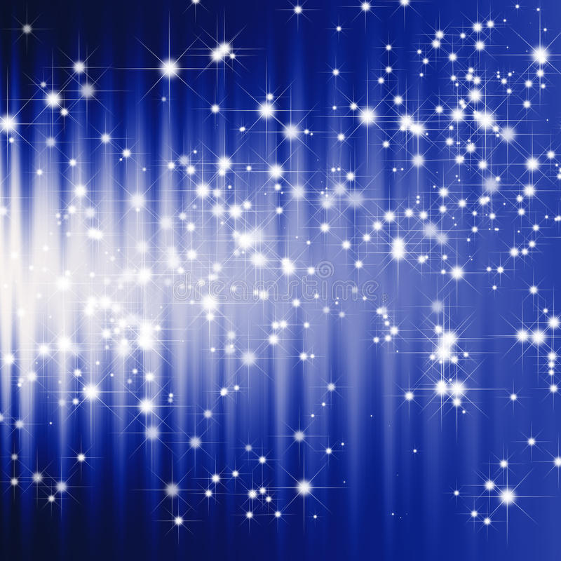 L'étincelle stars le fond illustration de vecteur