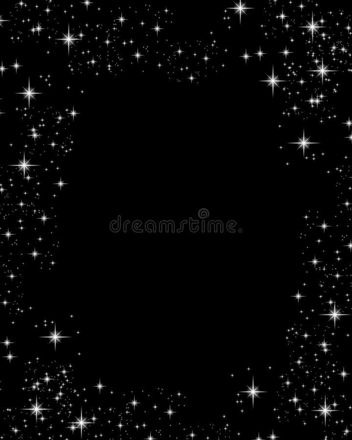 L'étincelle Stars le fond illustration libre de droits