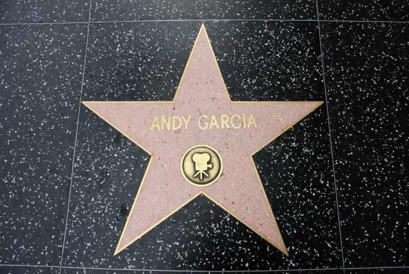 L'étoile d'Andy Garcia photos stock