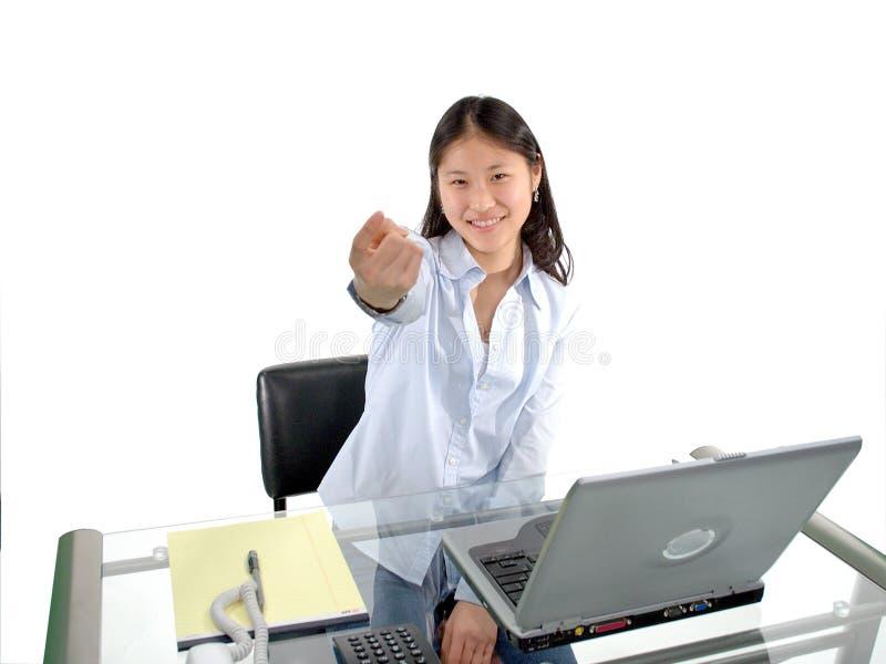 L'étudiant montre du doigt photos stock