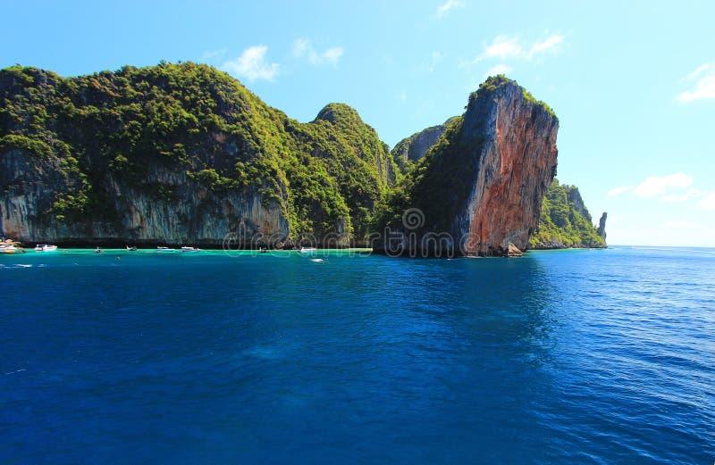 L'île photo stock