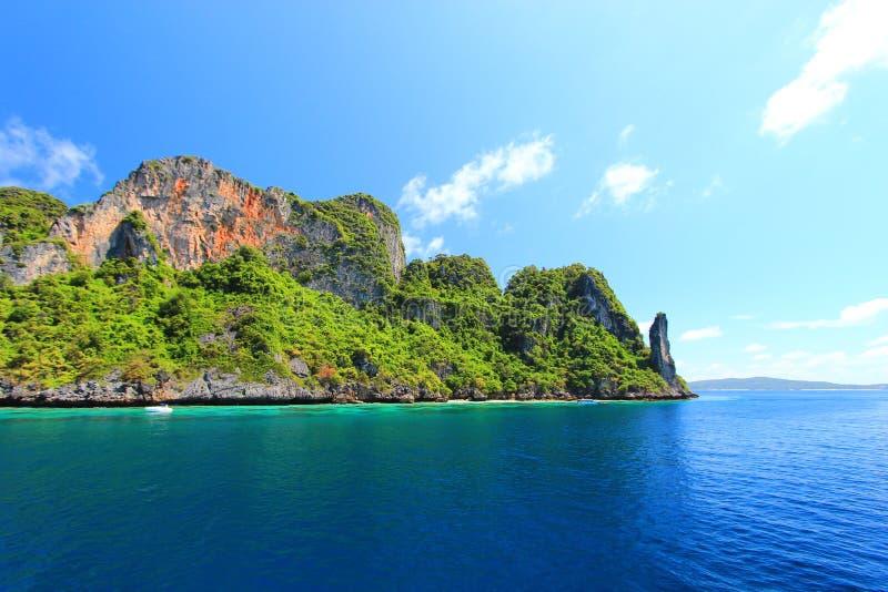 L'île image stock