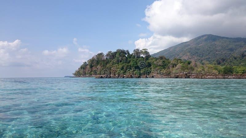 L'île image libre de droits