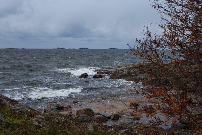 L'île de Helsinki photos libres de droits
